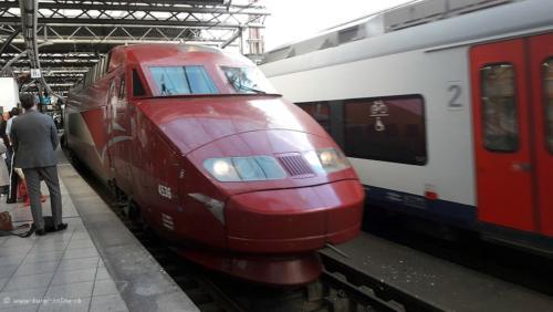Thalys Brüssel-Paris